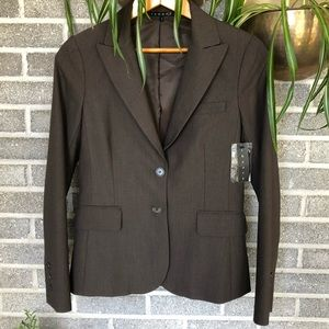 NWT Theory brown blazer small